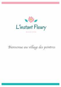 L Instant Fleury Livret d'accueil Barbizon